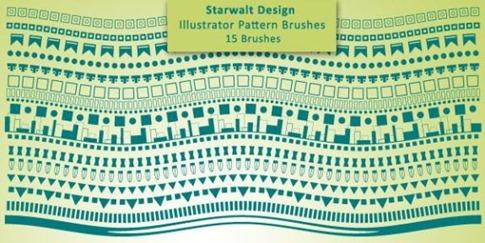 Pinceles de texturas