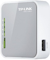 TP-LINK -Portable -3G-3.75G-4G-Wireless-N-Router