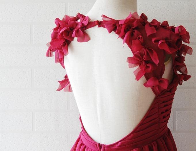 pink bare back