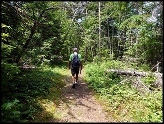 01a - Friar's Head Hike -Through the Woods