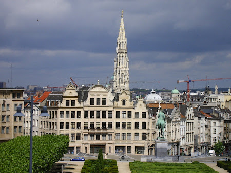 The City Hall tower from Brussels