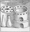 The Sublimatory Furnace Taken From Geber Works London 1678
