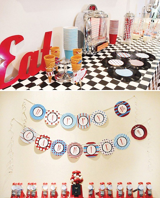 retro-diner-birthday-party-decorations