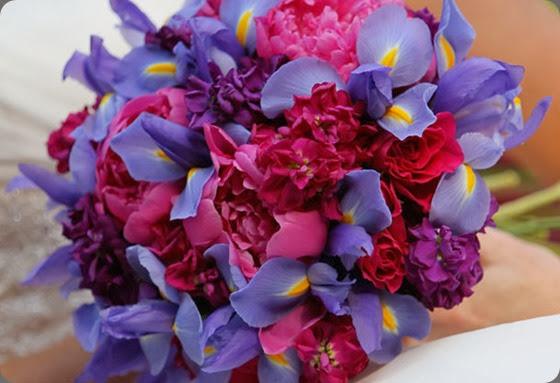 Iris Bouquet loda floral design
