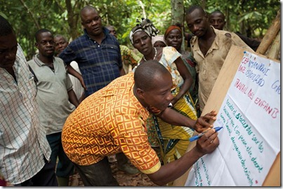 Cargill trains Cameroon cocoa farmers