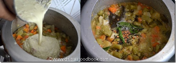 mixed veg kootu step by step picture 1