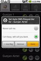 Screenshot of Call Blocker X - Advance call