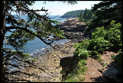 02j - Hiking Ocean Path - Rocky Coast