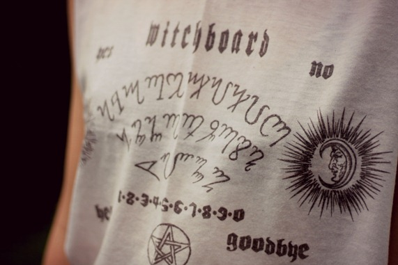 WITCH BOARD TEE ORION THEORY