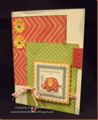 Dotty for You_elephant card