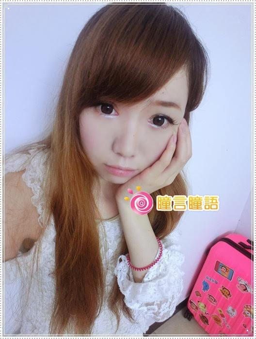 日本KRIAKRIA隱形眼鏡-Sweety Eye 糖果巧克力18