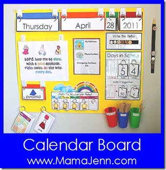 Calendar Board