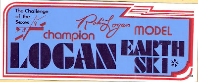 The decal  made after Robin won the Challenge Of The Sexes!