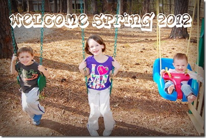 Welcome Spring 2012