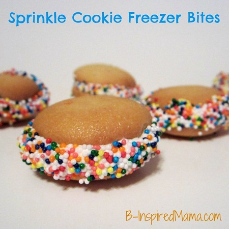 Sprinkle Cookie Freezer Bites 5