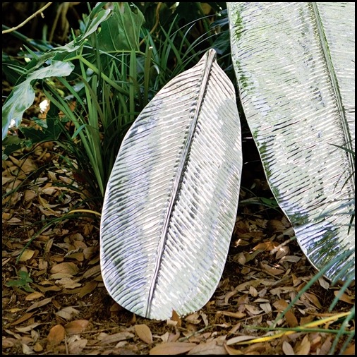 banana leaf platter