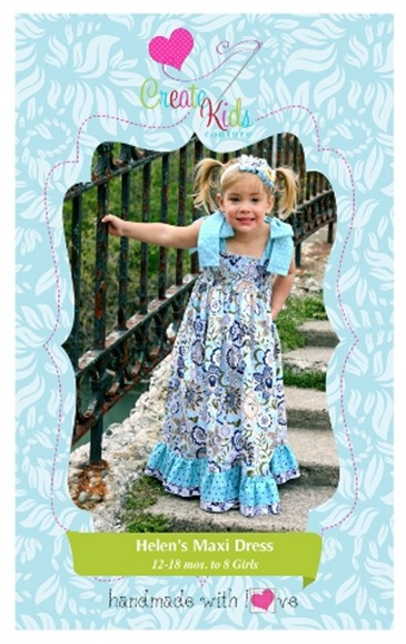 Create Kids Couture Paper Pattern2
