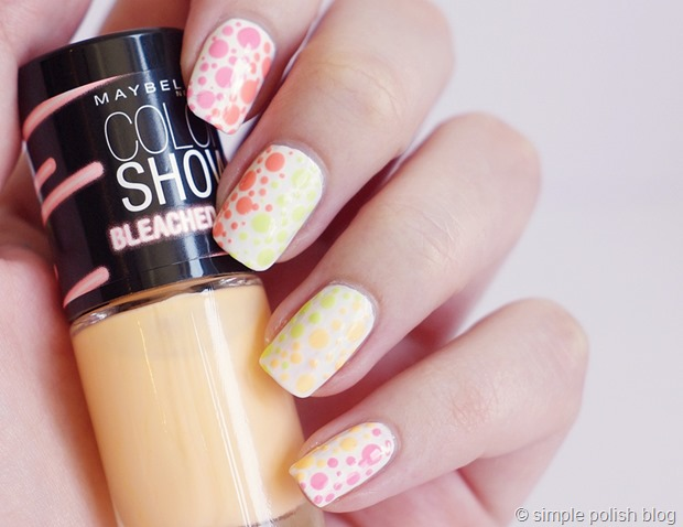 Maybelline-Bleached-Neons-Polka-Dots-1
