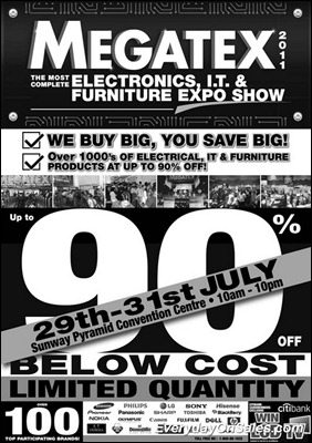 Megatex-Electronic-It-and-Furnitures-Expo-2011-EverydayOnSales-Warehouse-Sale-Promotion-Deal-Discount