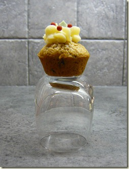 christmas pudding mini muffins7