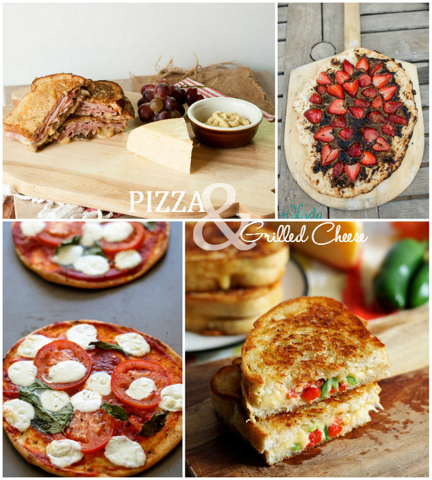 Pizza & Grilled Cheese via The Inspiration Board on homework
