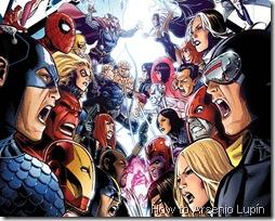 Avengers vs X-men por Negativo