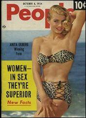 Anita Ekberg #129 - Mag. Cover