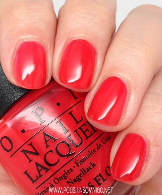 OPI Switchboard Starlet - exclusive polish created to celebrate the publishing of Nails - The Story of the Modern Manicure