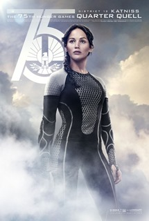 Catching Fire Victor Poster - Katniss