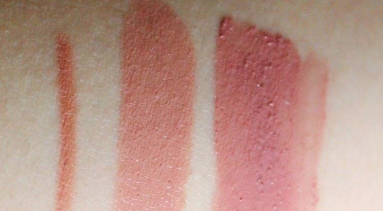 rimmel lip liner tiramisu rimmel kate lasting finish 03 essence XXXL longlasting matt effect 06 lipgloss swatch review