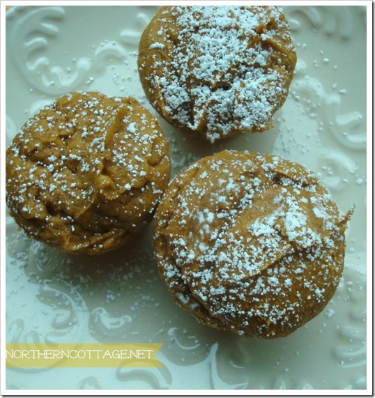 {Northern Cottage} punkin muffins