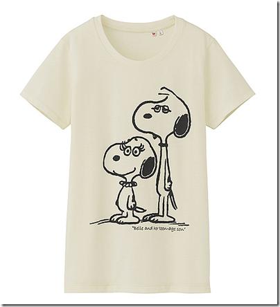 Uniqlo X Snoopy Tee - Woman 16