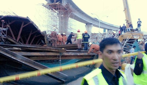 Jambatan Kedua Pulau Pinang Runtuh