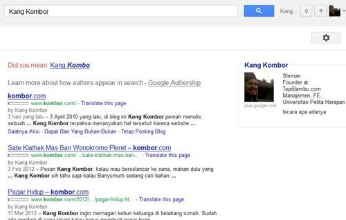 google authorsip