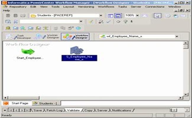 Informatica  Workflow Designer