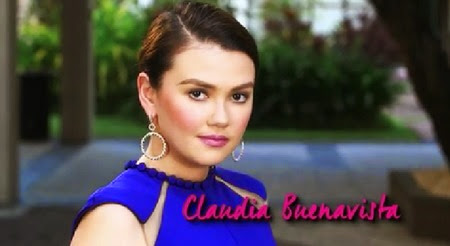 Angelica Panganiban as Claudia Buenavista in Pangako Sa 'Yo