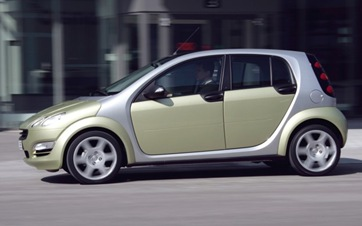 Smart Could Launch Four-Door Model By 2015