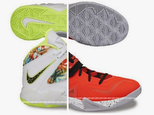 Two New Possible Nike Zoom Soldier VII Colorways