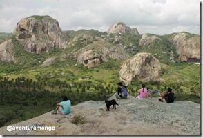 Visão do Parque Estadual da Pedra da Boca