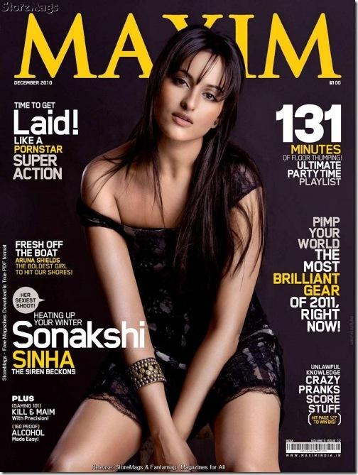 Sonakshi Sinha Maxim