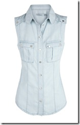 Karen Millen denim shirt