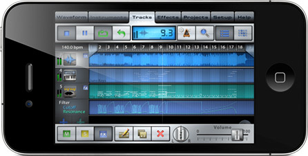 create music on iPhone!