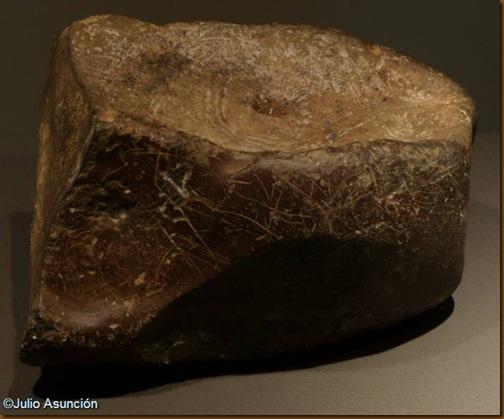 Bloue 2 de la cueva de Abauntz - Museo de Navarra