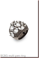 BCBG MULTI-GEM RING