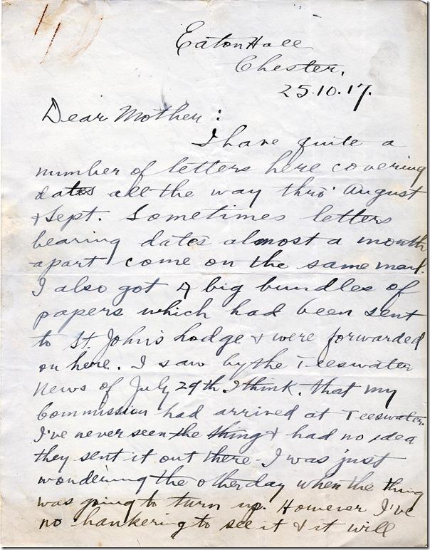 25 Oct 1917 1