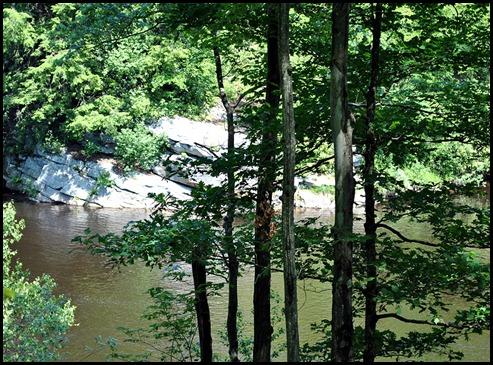 5 - Lehigh River on left