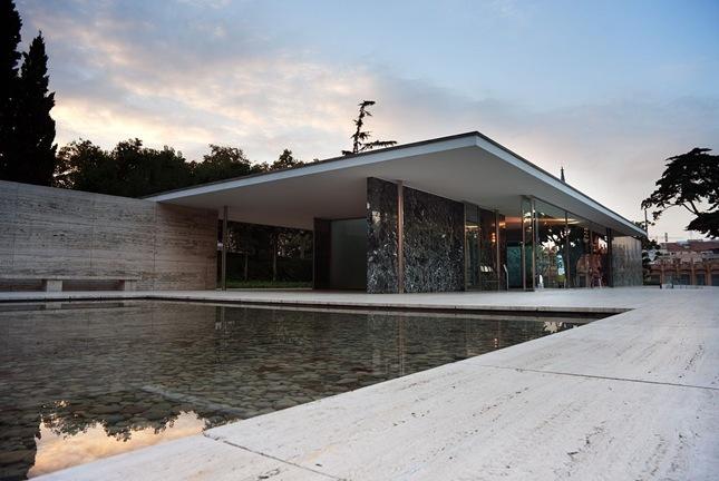 The Barcelona Pavilion, Barcelona