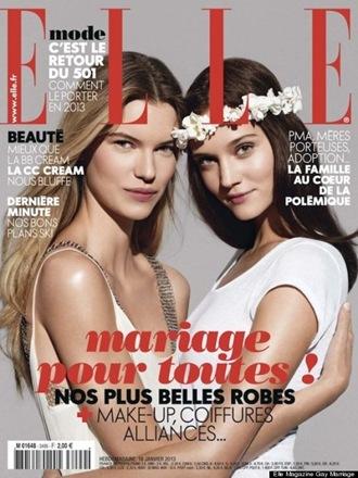 Elle casamento homossexual - Priscila e Maxwell Palheta