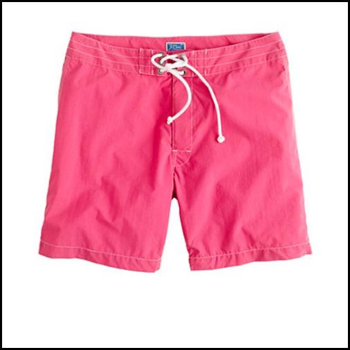 Pink JCrew Board shorts