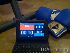 Impetus Timer: You can tell this guy is serious, 'cause he has boxing gloves in the picture!